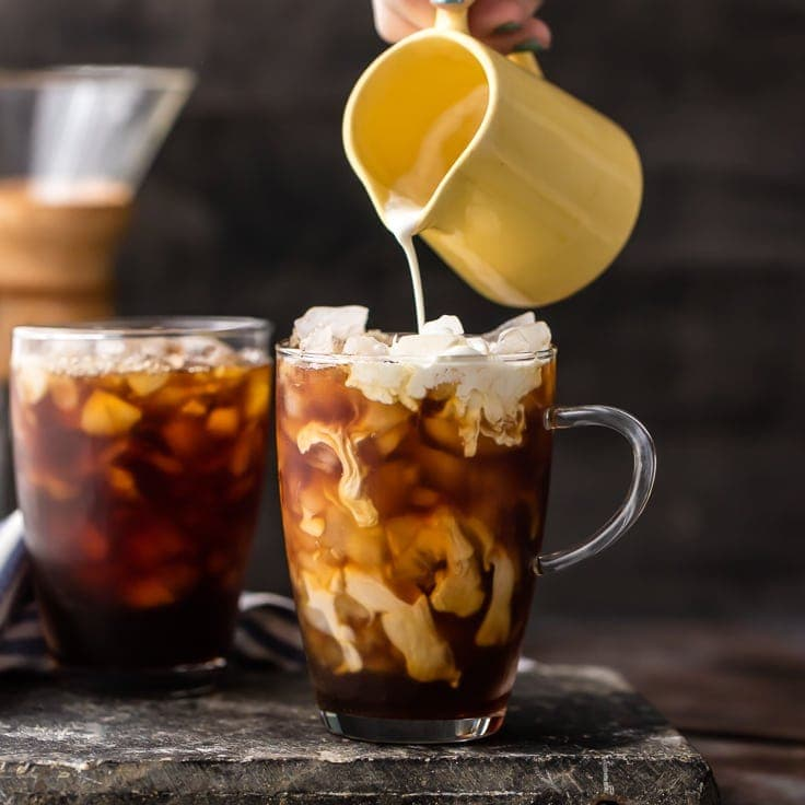 Spiked Thai Iced Coffee (Plus Non-Alcoholic Version) - The Cookie ...