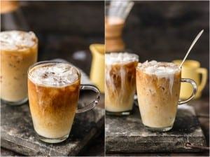 Thai Iced Coffee has quickly become one of my favorite alcoholic coffee drinks. This Thai Iced Coffee Recipe is such a refreshing, flavorful, and easy iced coffee recipe. We have made an alcoholic as well as a non-alcoholic version of this delicious iced coffee recipe, which infuses spices right into the brewing and uses sweetened condensed milk for both sweetener and creamer. The best way to wake up is this dreamy, creamy, Thai Iced Coffee!