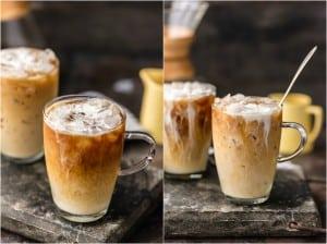 Thai Iced Coffeemugs on table