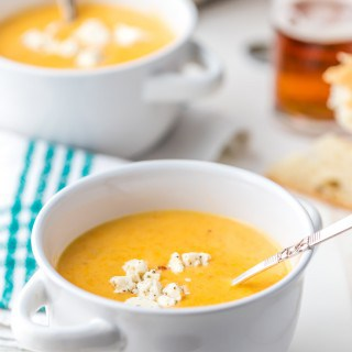 Beer Cheese Soupis delicious and made in just 15 minutes! This Beer Cheese Soup Recipe is a delicious, super quick soup recipe! This creamy comfort foodis the perfect Winter easy dinner recipe! If you love cheese and love beer, this DELICIOUS Beer Cheese Soup is just for you.