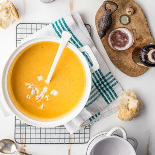 15 Minute Beer Cheese Soup