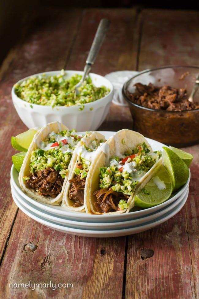 Bulgogi Jackfruit Street Tacos | Namely Marley
