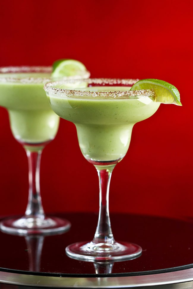 Kicked Up Avocado Margarita | Cookin' Canuck