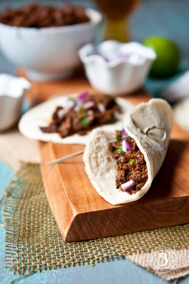 Stout Beef Barbacoa Tacos | The Beeroness