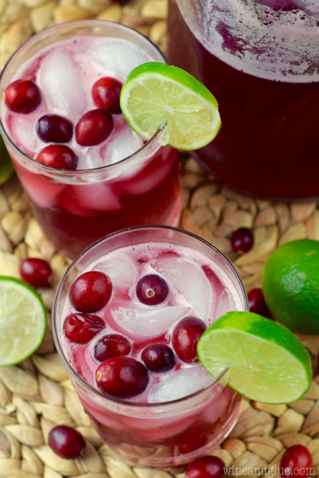 Cranberry Beergarita | Wine and Glue