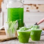 Green St. Patrick's Day Punch {Cocktail or Mocktail}