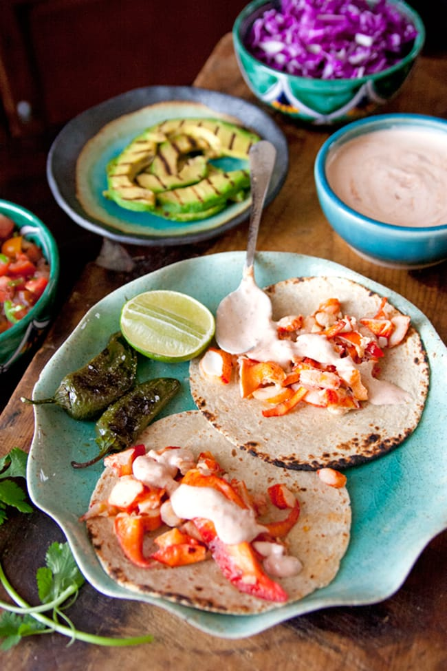 Lobster Tacos | Muy Bueno Cookbook