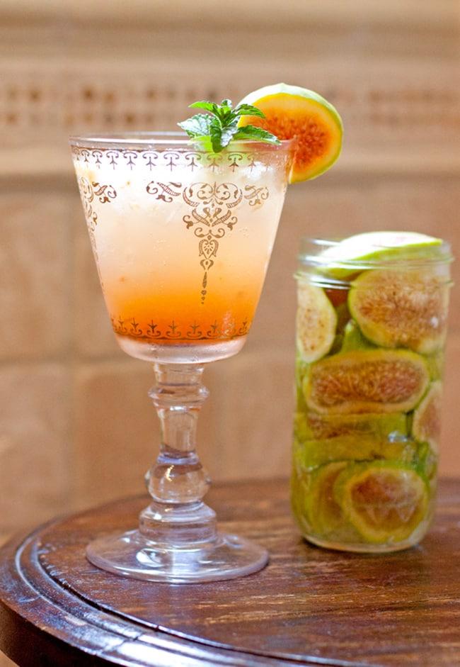 Tequila Infused Fig Margarita   Muy Bueno Cookbook