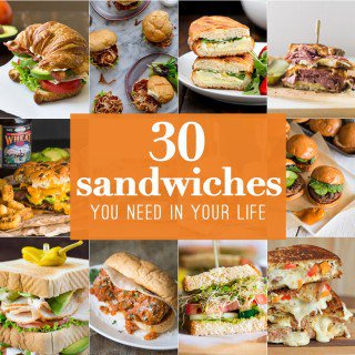 10 Sandwich Recipes