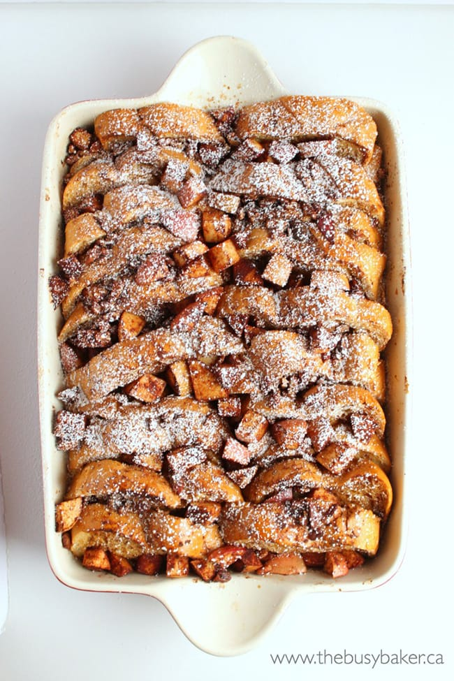 Apple Cinnamon French Toast Bake   The Busy Baker