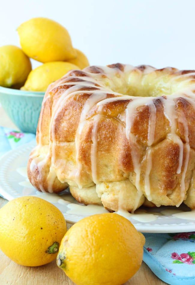 Lemon Monkey Bread   The Recipe Rebel