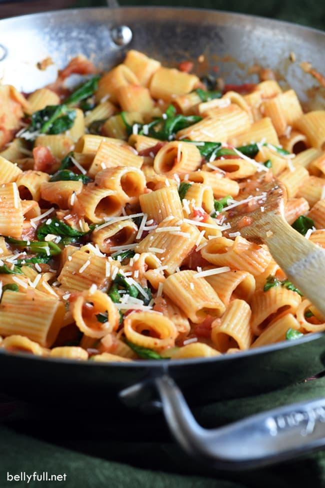 One Pot Italian Pasta | Belly Full