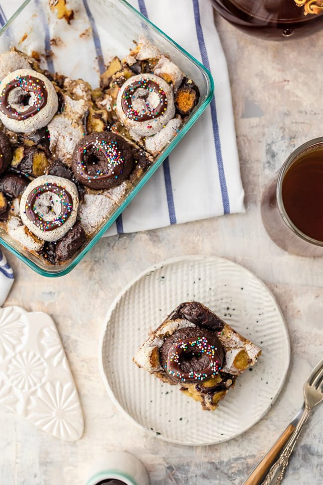 Coffee and Donuts Breakfast Bake   The Cookie Rookie