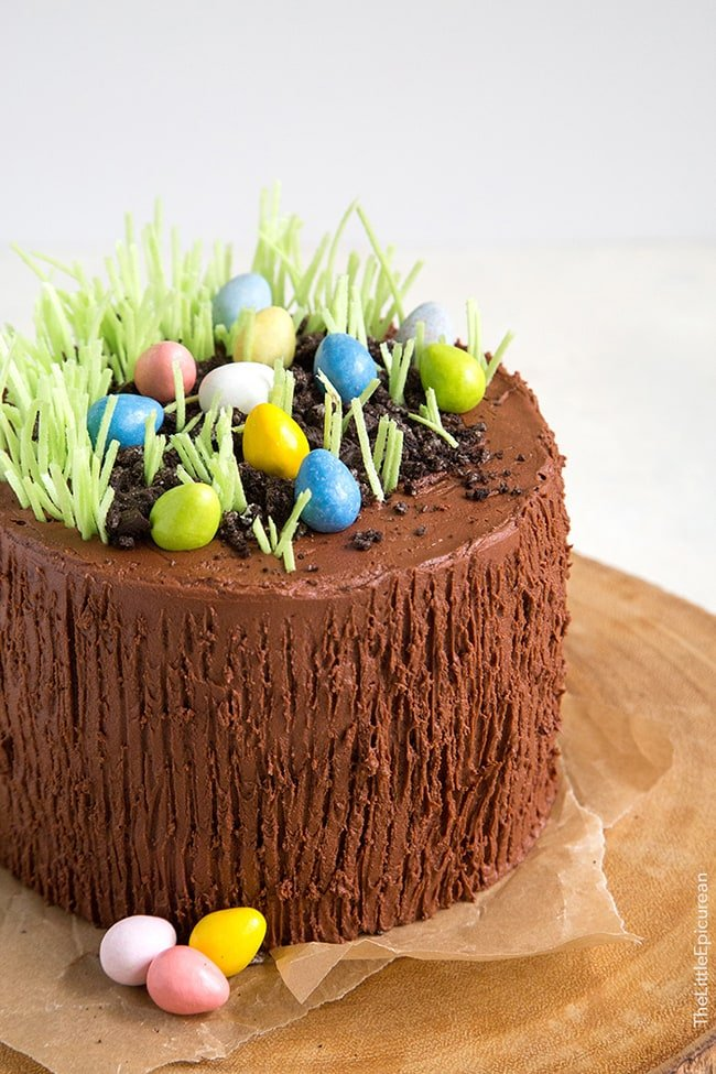 Easter Egg Chocolate Cake | The Little Epicurean