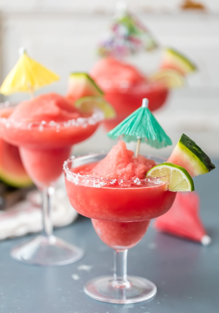 Frozen Watermelon Margarita is just what you need for Cinco de Mayo ...