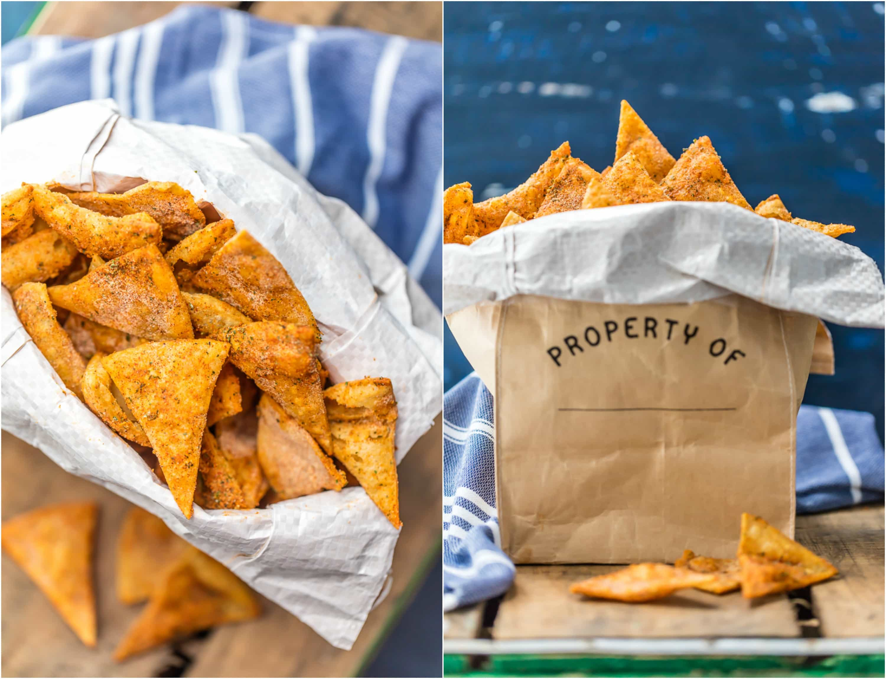 Cool Ranch Doritos are fun, tasty, easy, and cheap to make at home!! This HOMEMADE DORITOS RECIPE will impress your family and is sure to be made again and again. Once you learn How to Make Doritos you'll never go back to buying bag after bag. You'll be in love with this Cool Ranch Doritos Recipe and want to learn how to make all the flavors.