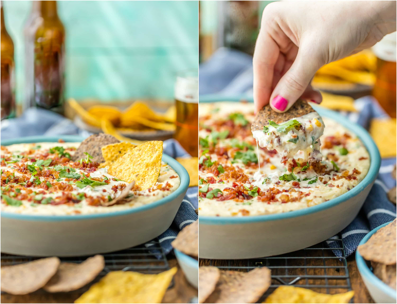 chips in dip
