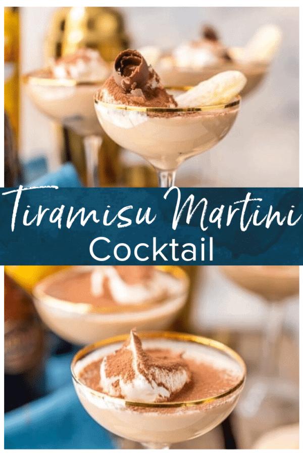 tiramisu martini pinterest photo