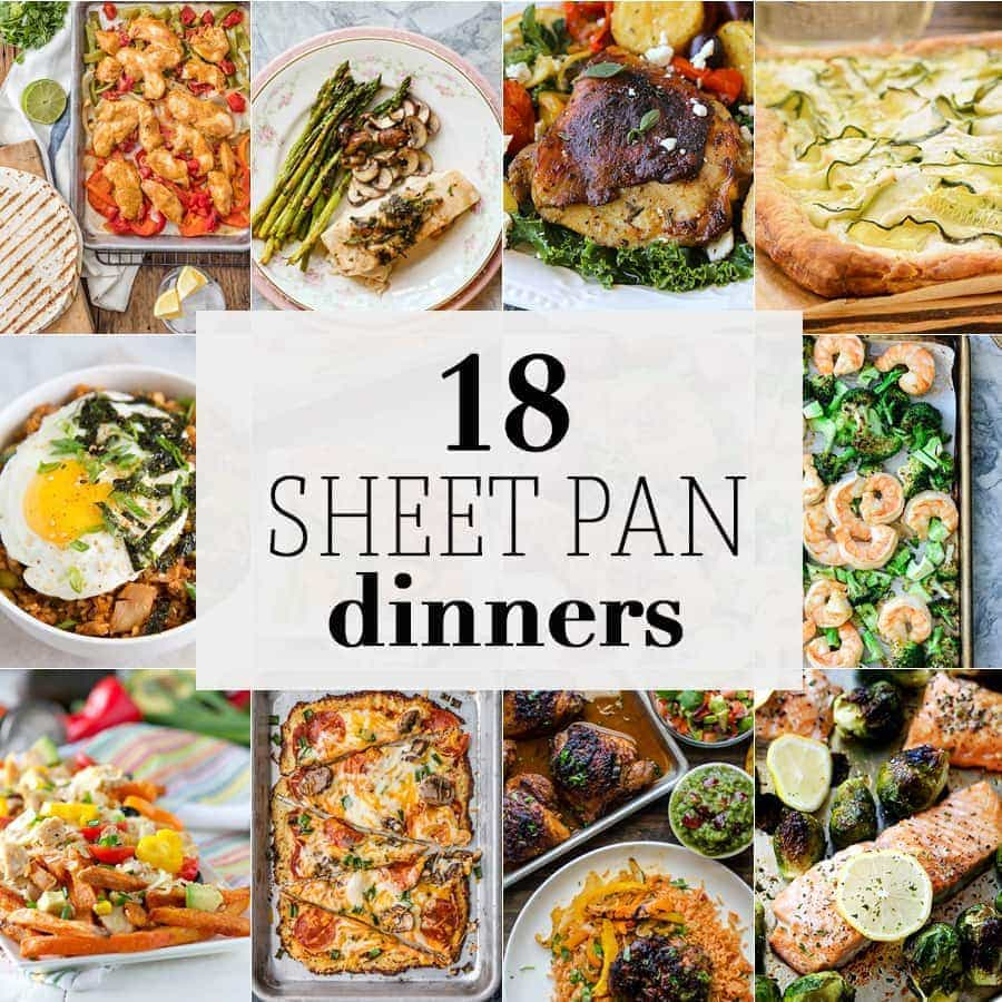 10 sheet pan dinners the cookie rookie sheet pan dinners are the ultimate easy recipe for any occasion every type of sheet forumfinder Images