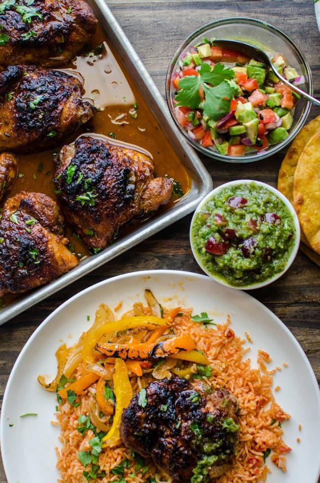 Easy Oven-baked Chicken Fajita   The Flavor Blender
