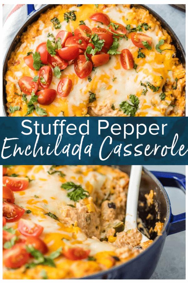 stuffed pepper enchilada casserole pinterest pic