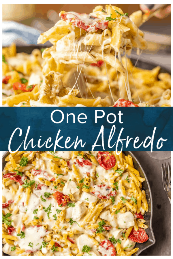 one pot chicken alfredo pinterest photo