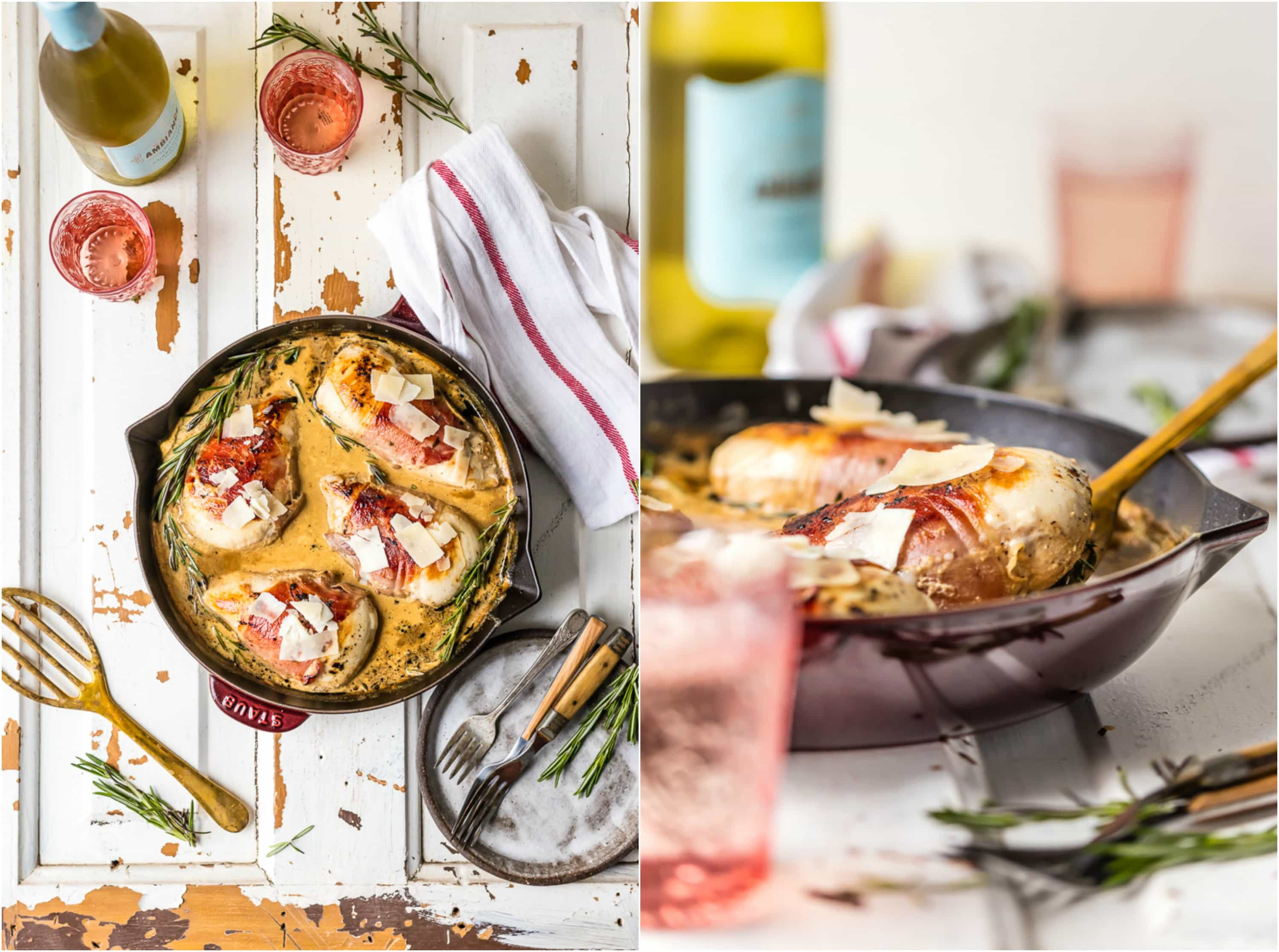Proscuitto Wrapped Sherry Cream Chicken Skillet Is Our Favorite Easy And Quick Dinner