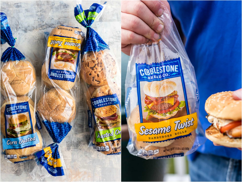 Cobblestone Bread Co. bag of buns