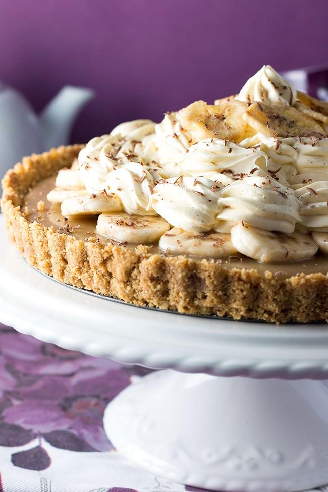 No Bake Banoffee Pie | Erren's Kitchen