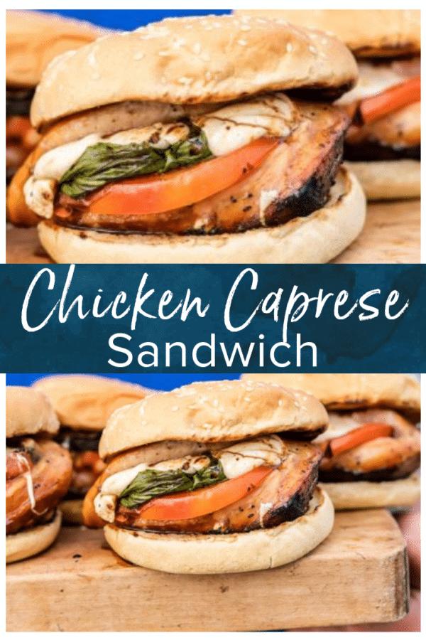 chicken caprese sandwich pinterest photo