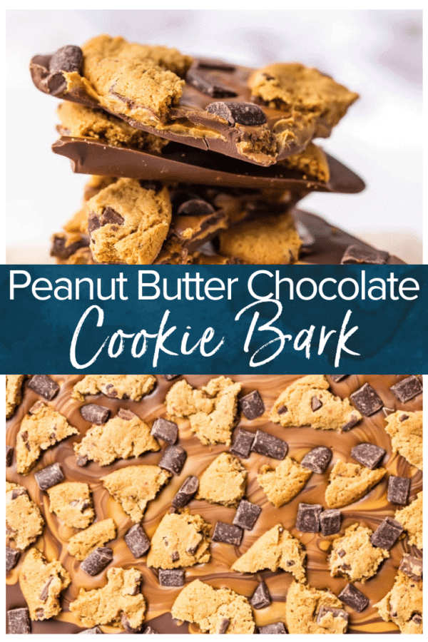 peanut butter chocolate cookie bark pinterest photo
