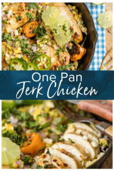 jerk chicken pinterest collage