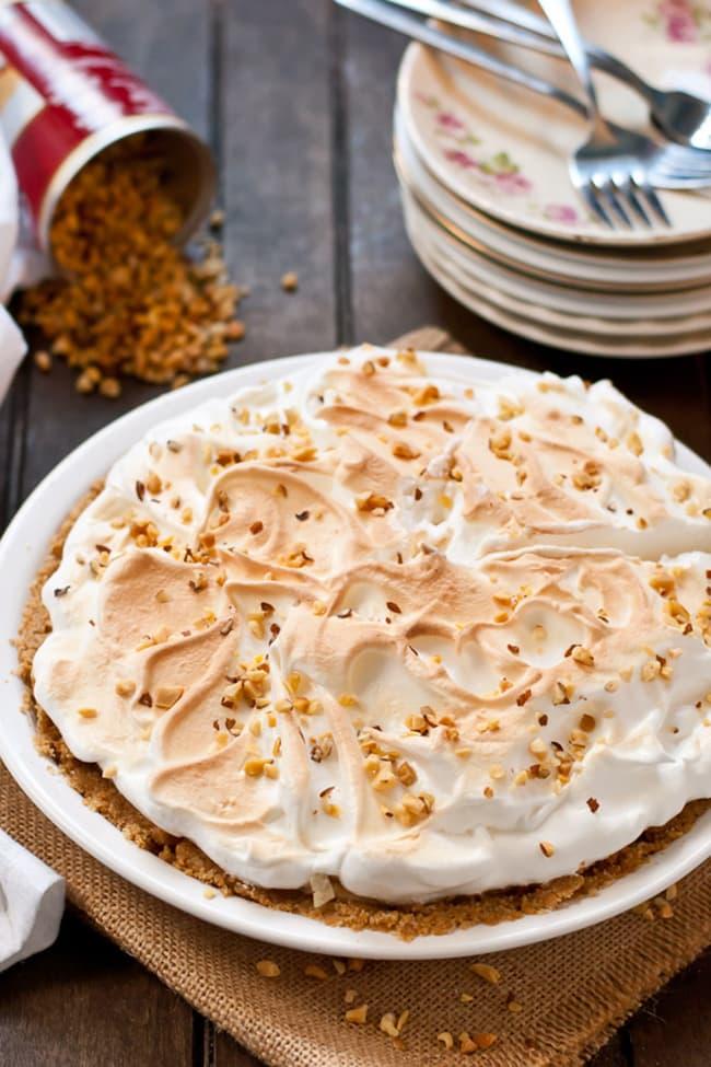 No Bake Peanut Butter Meringue Pie | Neighbor Food