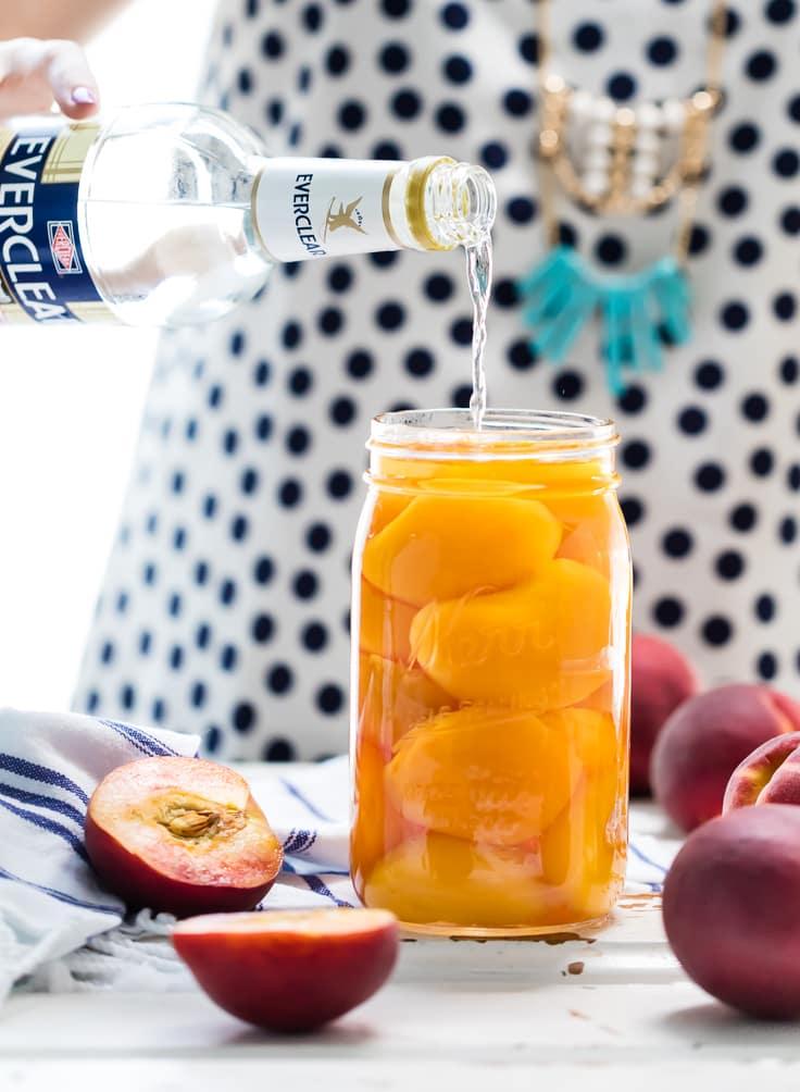 Homemade Peach Tea Vodka (Plus the Spiked Peach Arnold Palmer!) - The ...