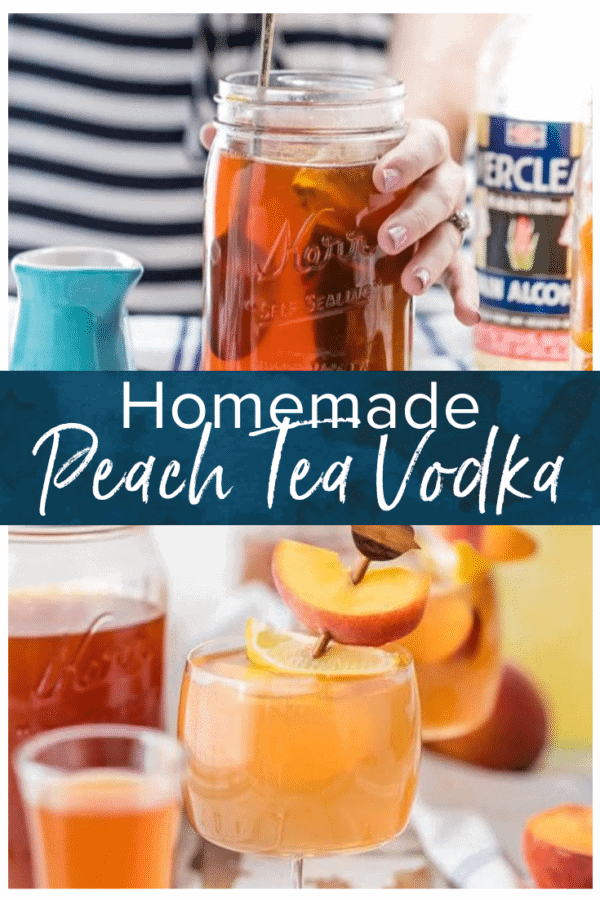 spiked peach tea pinterest photo