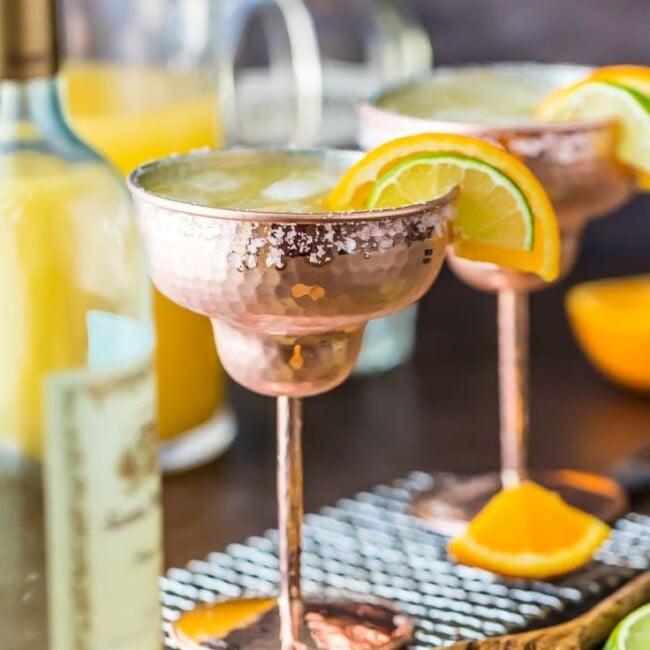 white wine margaritas featured image