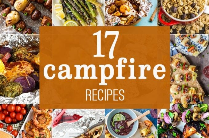 17 EASY CAMPFIRE RECIPES! All the camping recipes you need to make ...