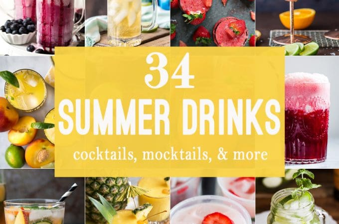 34 Summer Drinks