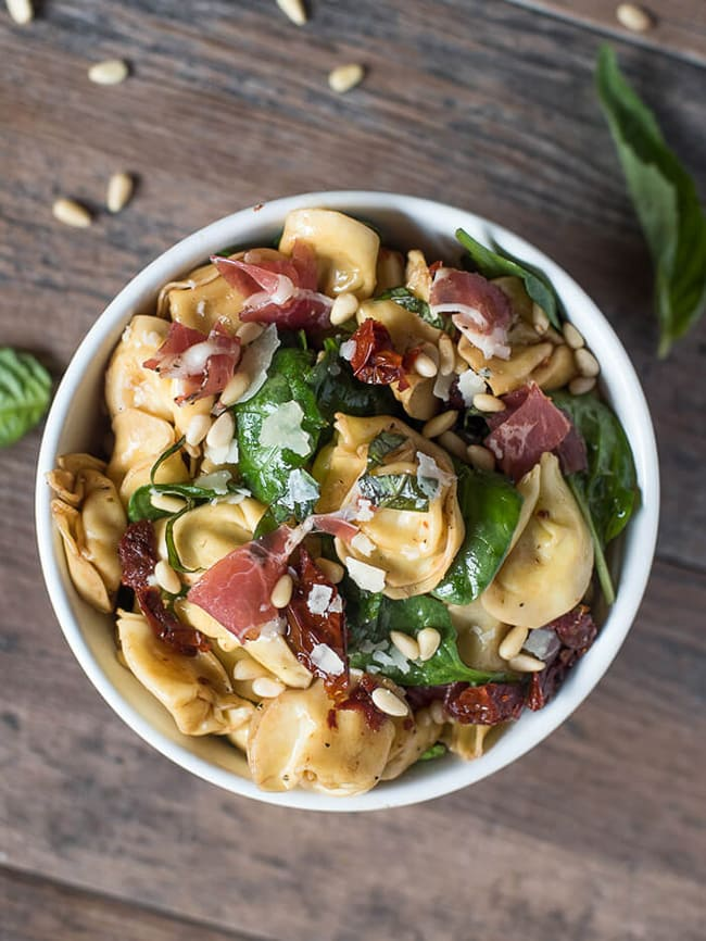 Italian Tortellini Salad | From Valerie's Kitchen