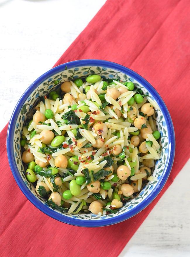 Super Greens Healthy Pasta Salad   Luci's Morsels