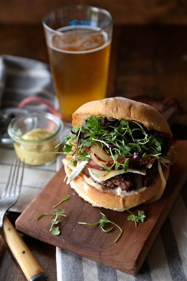 Bacon Brie Burger | Country Cleaver