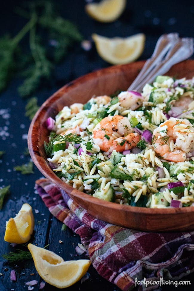 Orzo and Roasted Shrimp | Foolproof Living