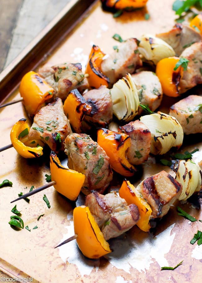 Tender Pork Kabobs | Cooking LSL