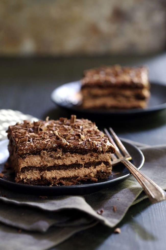 Double Chocolate Eclair Cake | Melanie Makes