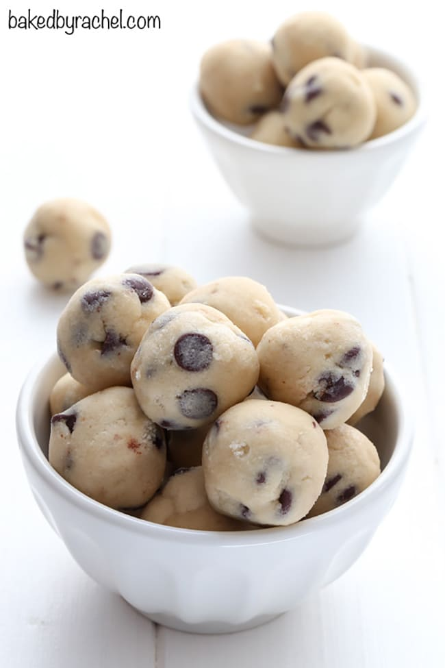 Egg-Free Chocolate Chip Cookie Dough | Baked By Rachel