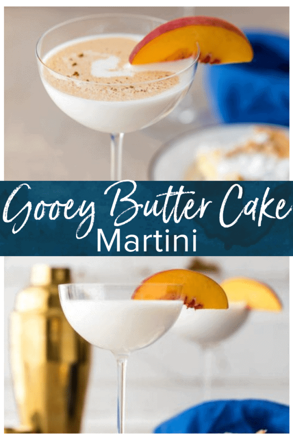 gooey butter cake martini pinterest pic