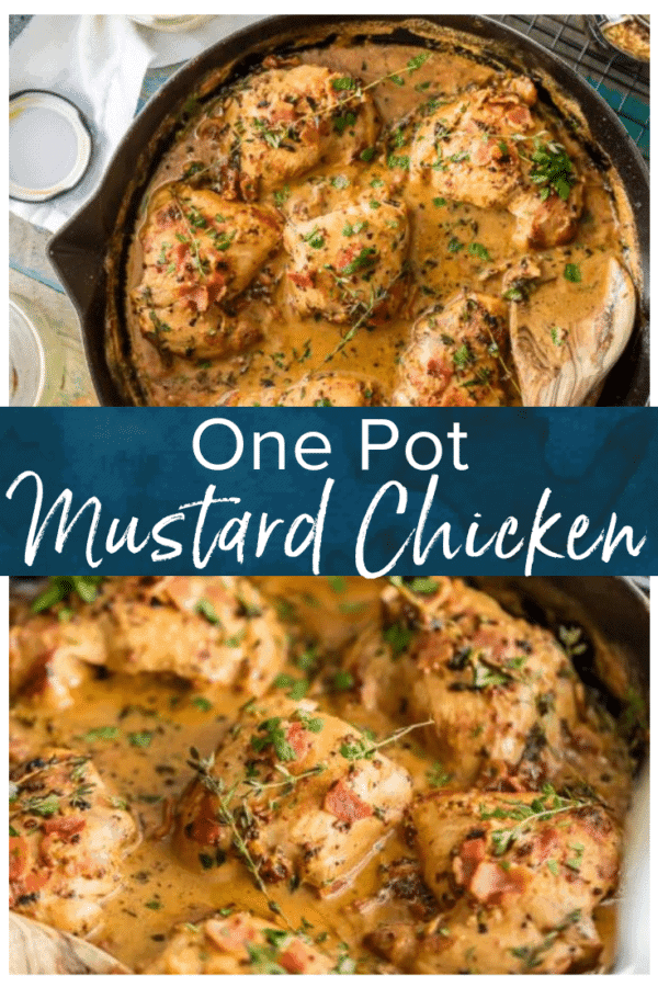 mustard chicken pinterest photo
