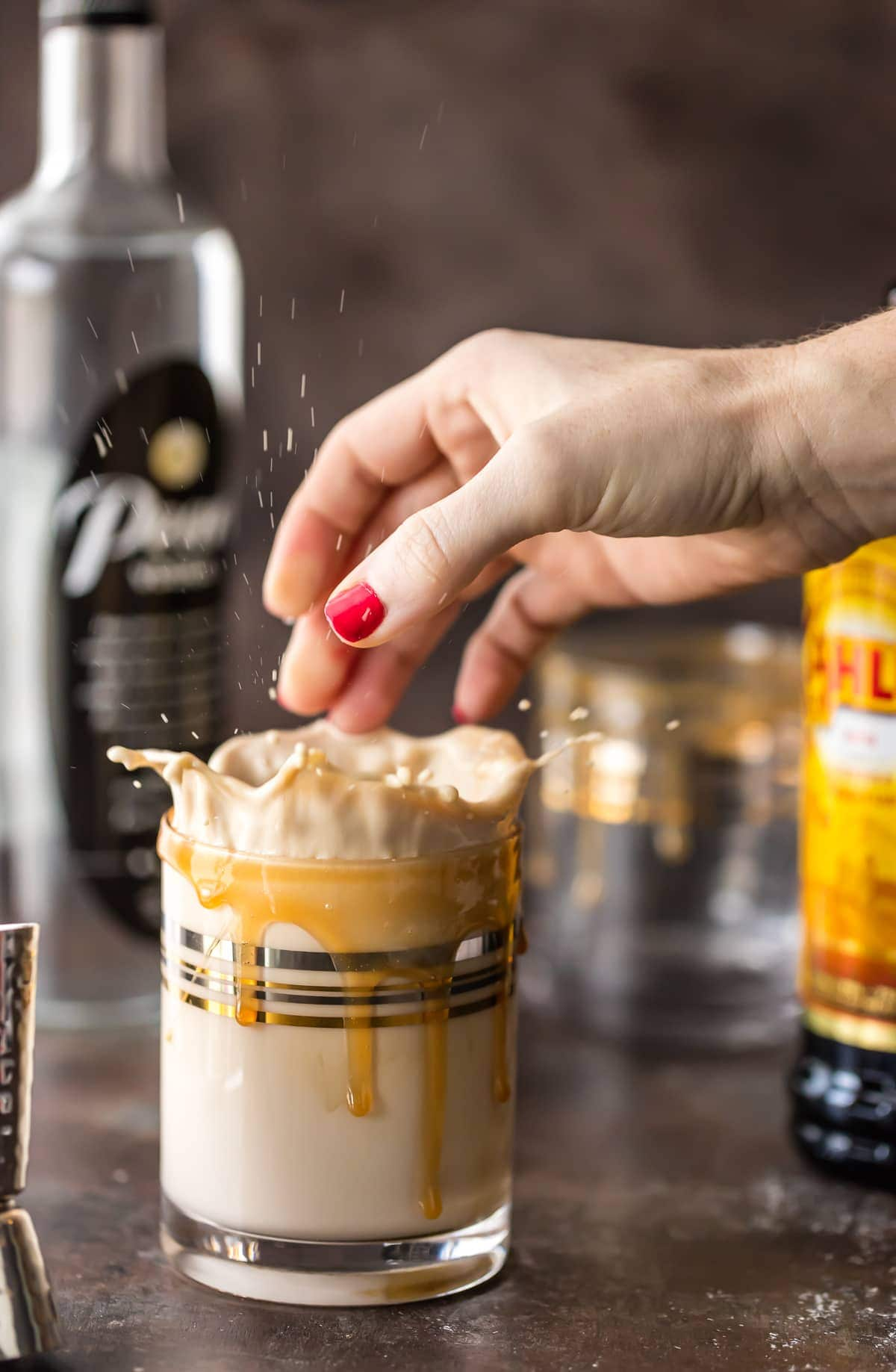 White Russian Recipe that is Skinny and low on calories? Is that even possible? YES! This Skinny White Russian Recipe has it all! Super creamy, flavorful, and just a fraction of the calories. You don't have to feel guilty while sipping this skinnier version of a cocktail favorite!