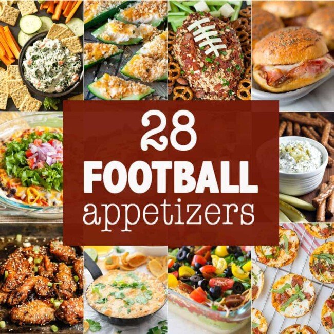 28 Football Appetizers
