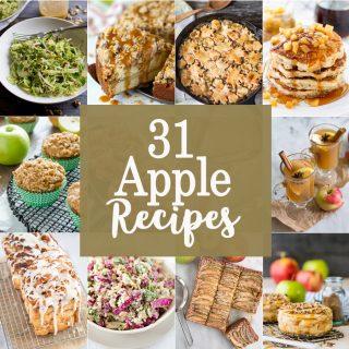 31 Apple Recipes